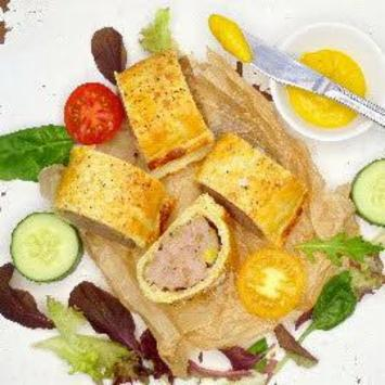Sausage, Sage & Pickle Roll