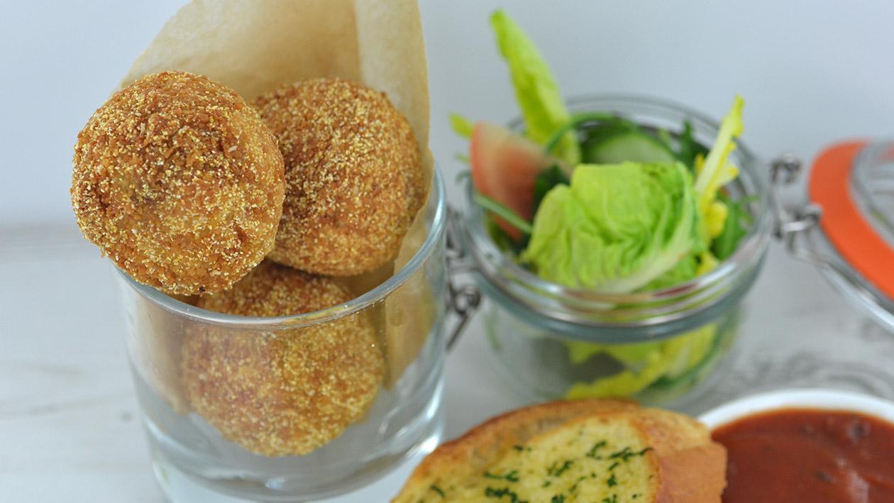 Arancini di Riso - Mushroom & Taleggio – recipe