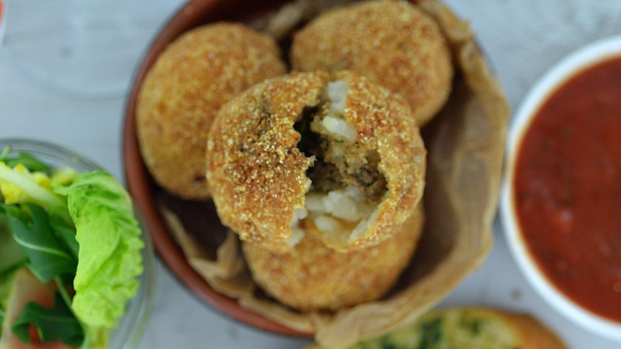 Arancini di Riso - Roasted cauliflower, capers & lemon – recipe