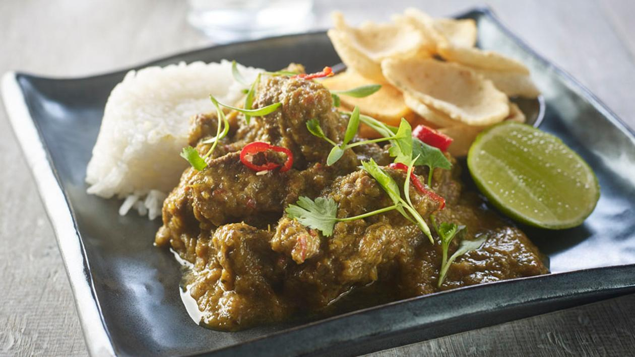 Beef rendang by Chris Barber – recipe