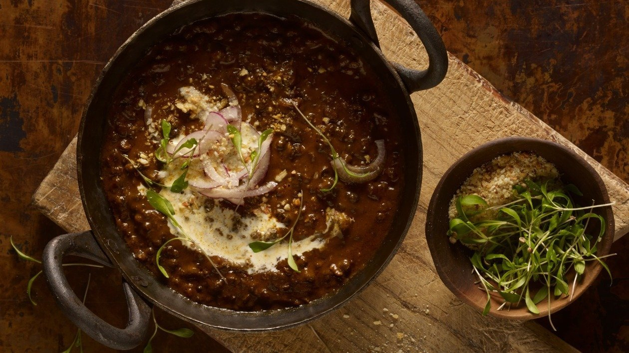 Black Dal – recipe
