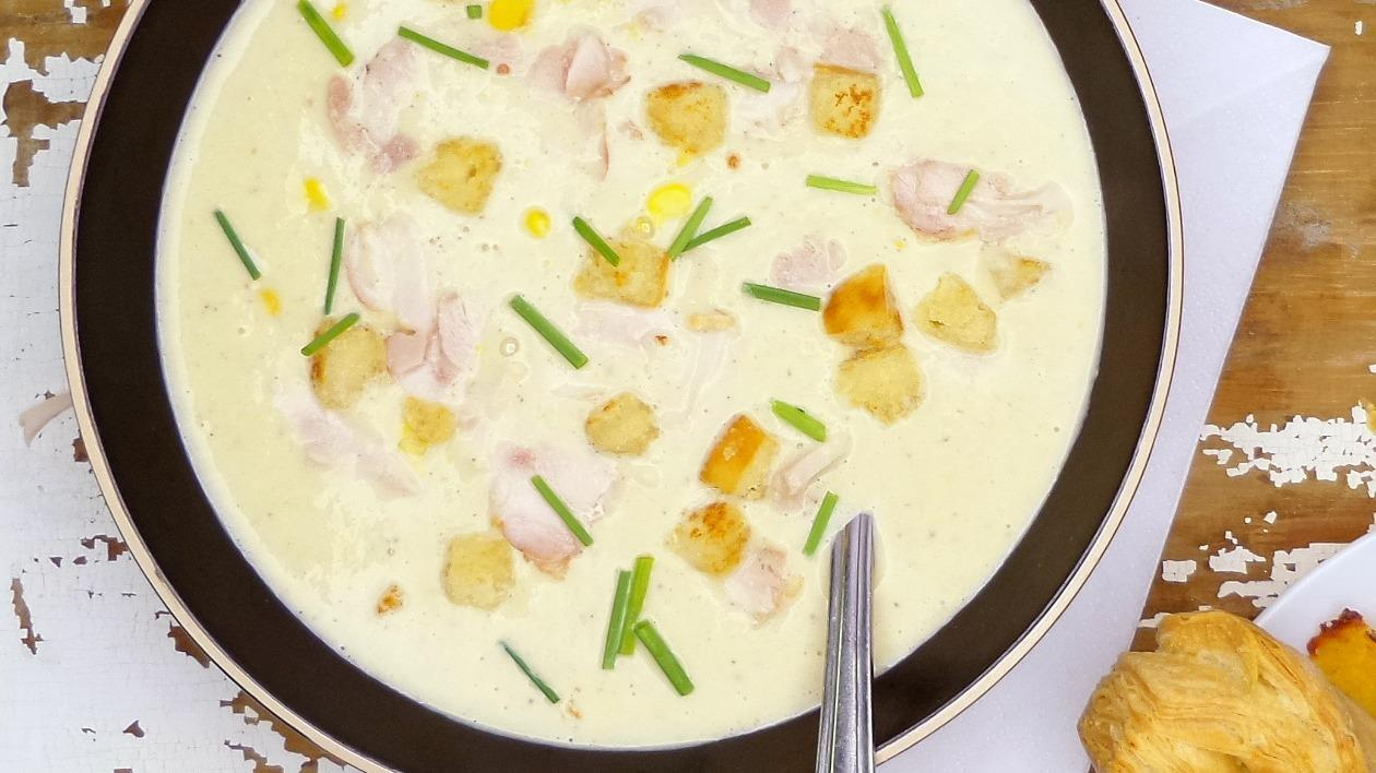 Brian Lane's Chicken and Sweetcorn Soup – recipe