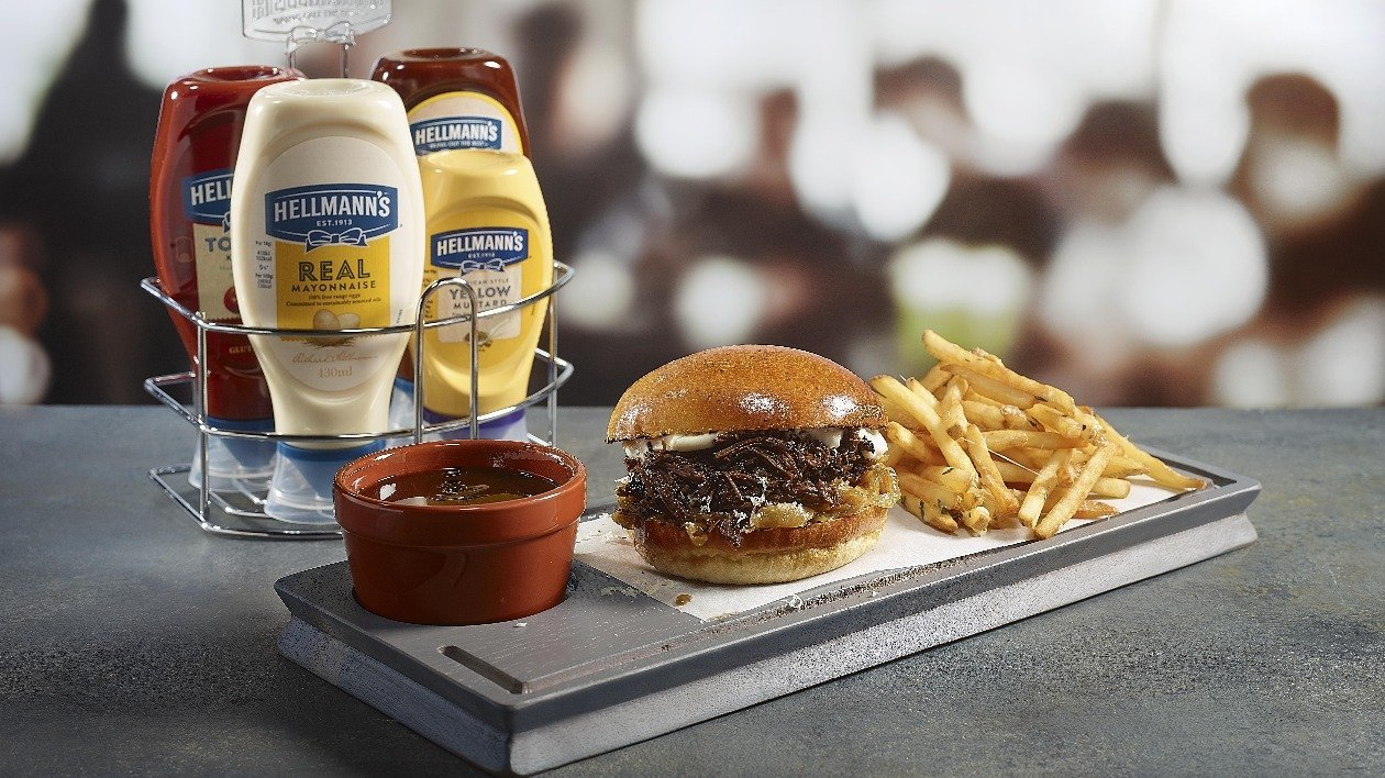 Brioche and braised ox cheek french dip – recipe