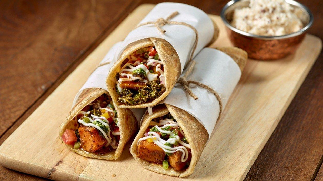 Chicken Kaathi Rolls