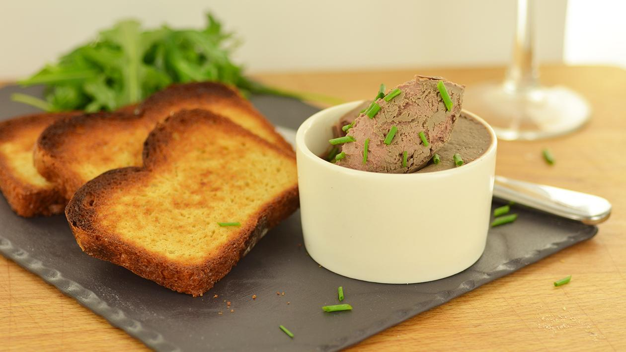 Chicken liver parfait  – recipe