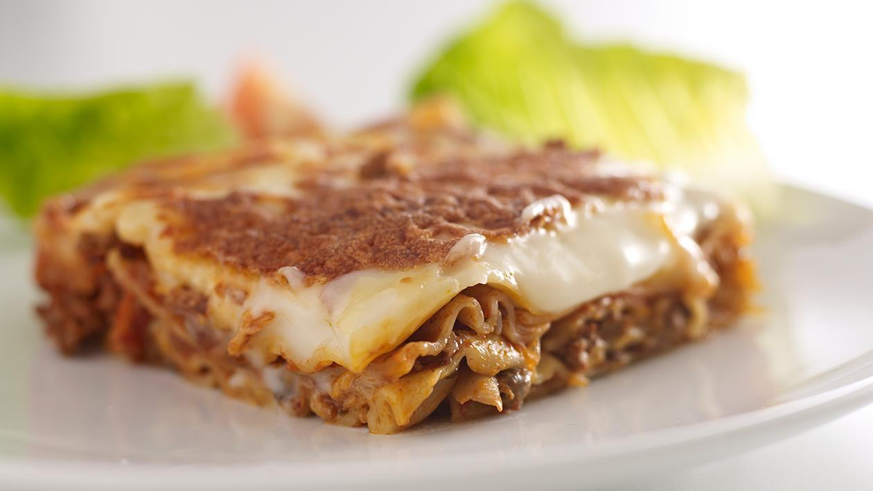 Classic beef lasagne – recipe