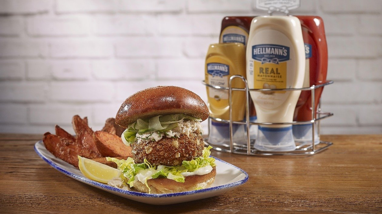 Crab Burger – recipe