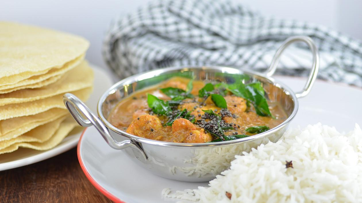 Eastern India - Andra prawn curry  – recipe