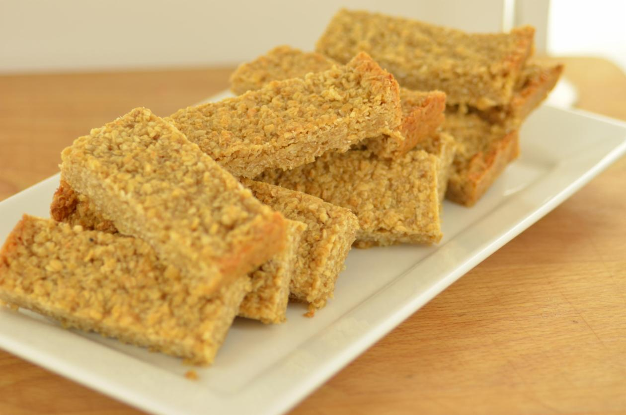 Golden syrup flapjack – recipe