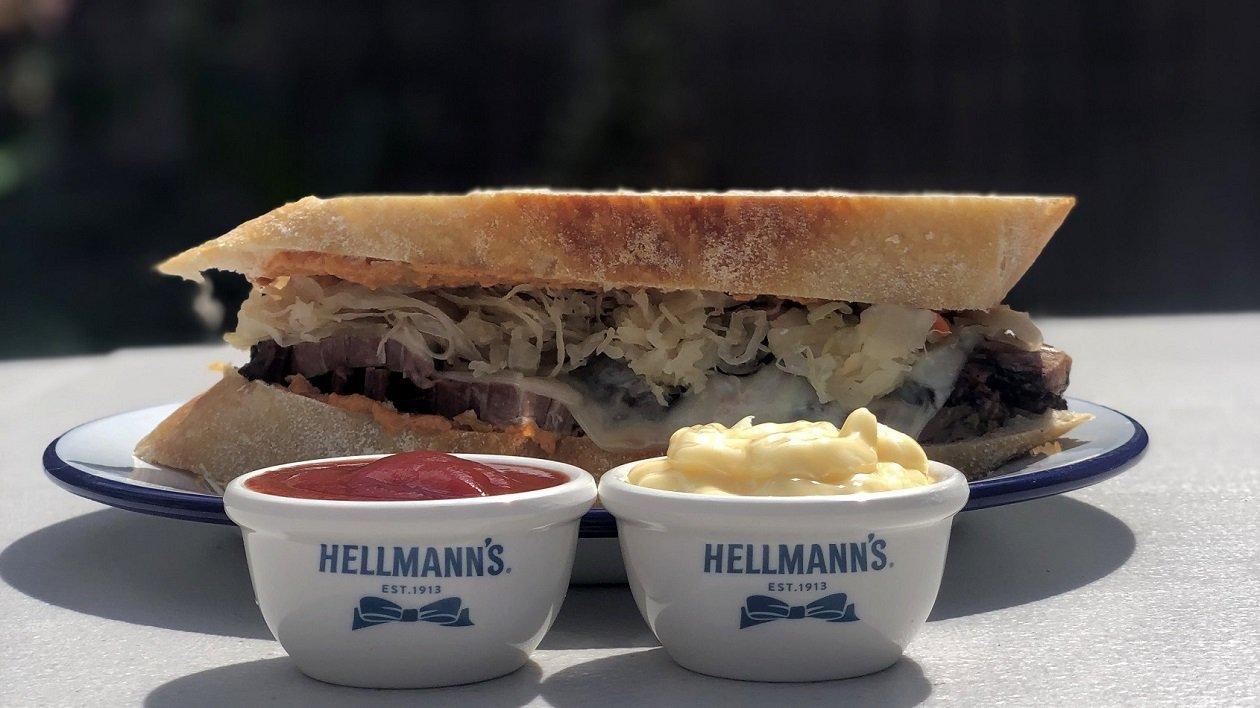 HELLMANN's Big Boys Smoked Brisket Reuben – recipe
