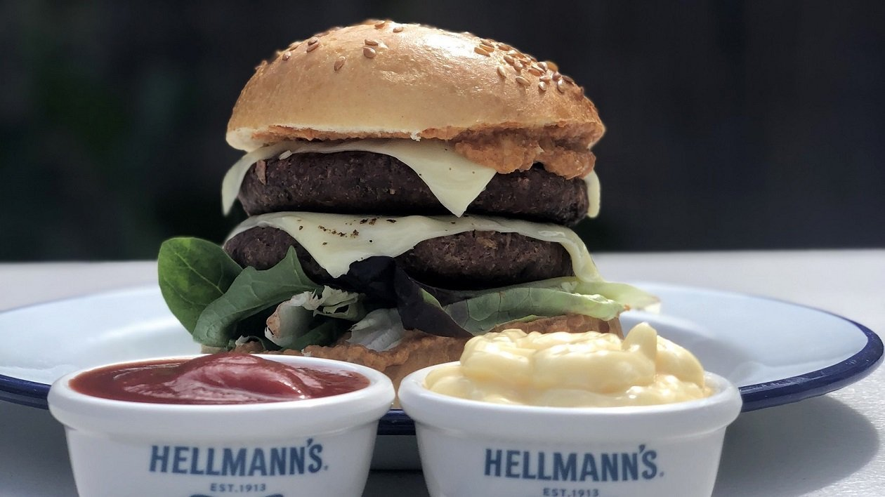 HELLMANN's Big Boys Vegan Out and Out  – recipe