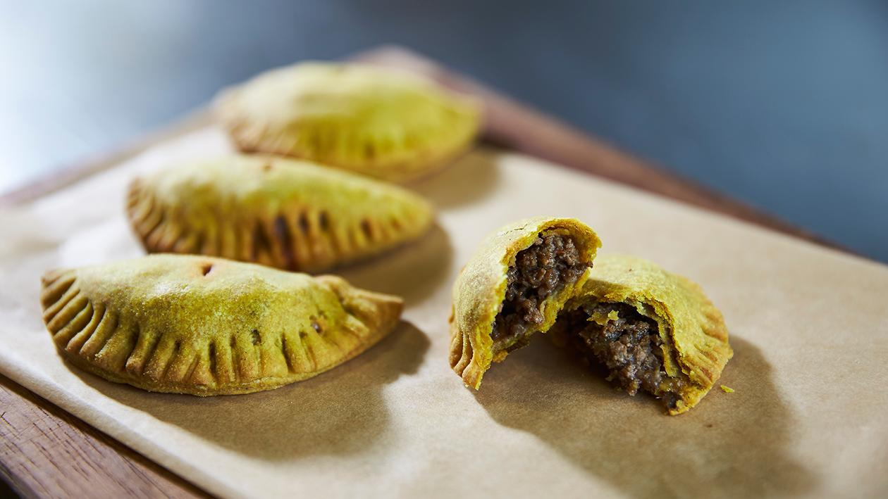 Jamaican jerk patties – recipe
