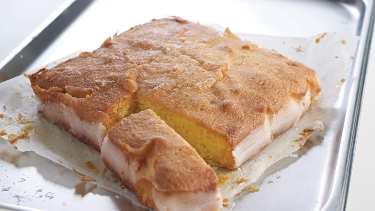 Light Lemon Sponge Cake Recipes: Lemon Drizzle Cake – Recipe