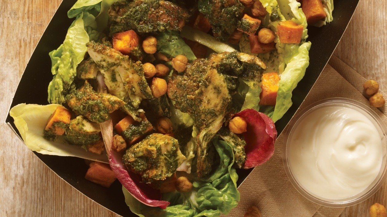 Mangalore Style chicken Salad – recipe
