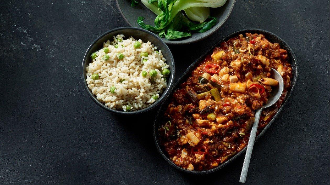 Mao Po Tofu  – recipe