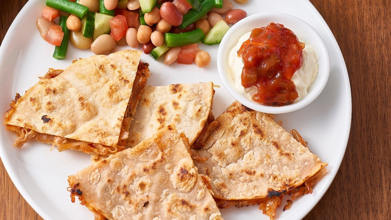 Mexican Pulled Pork Quesadillas – recipe