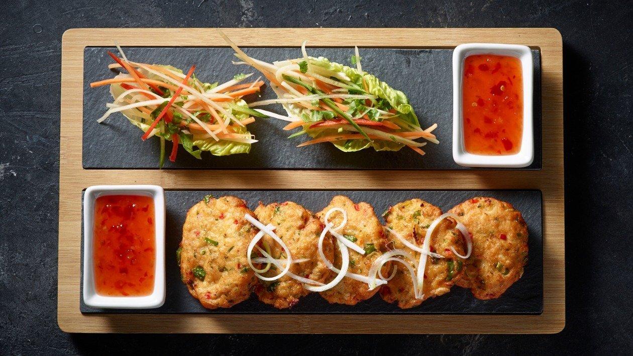 Red Thai Fish Cakes  – recipe