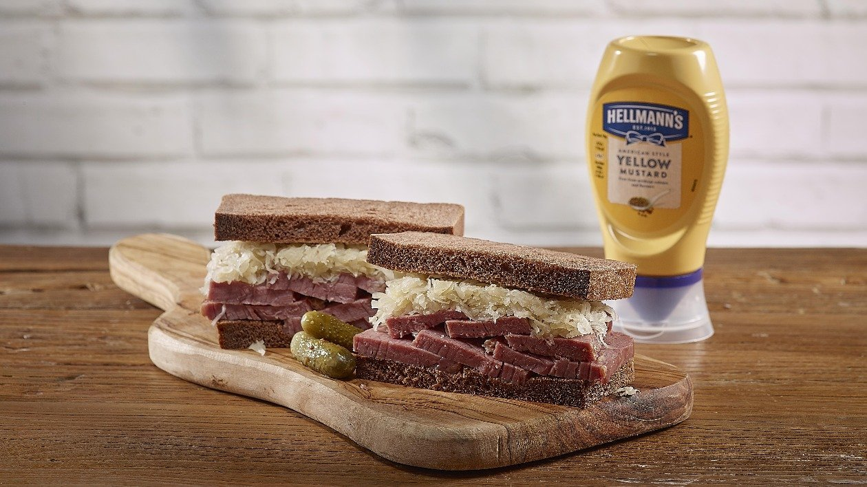 Salt Beef and Mustard on Rye – recipe