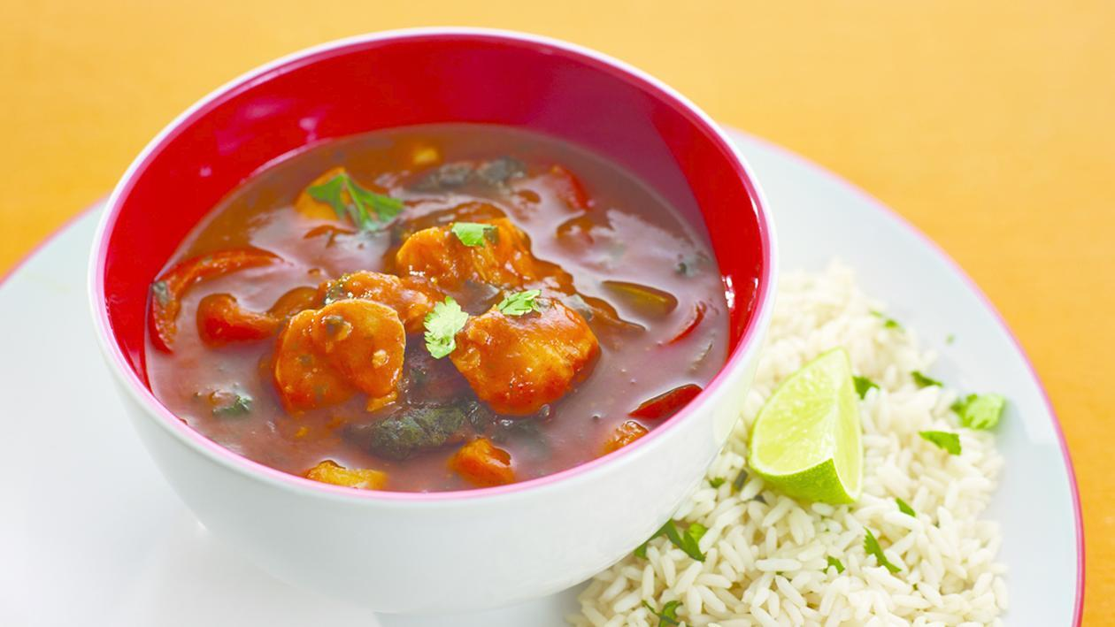 Seafood Fish stew with chilli and lime – recipe