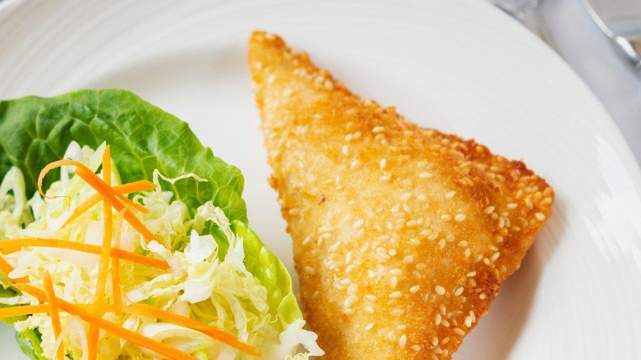 Sesame prawn toasts – recipe