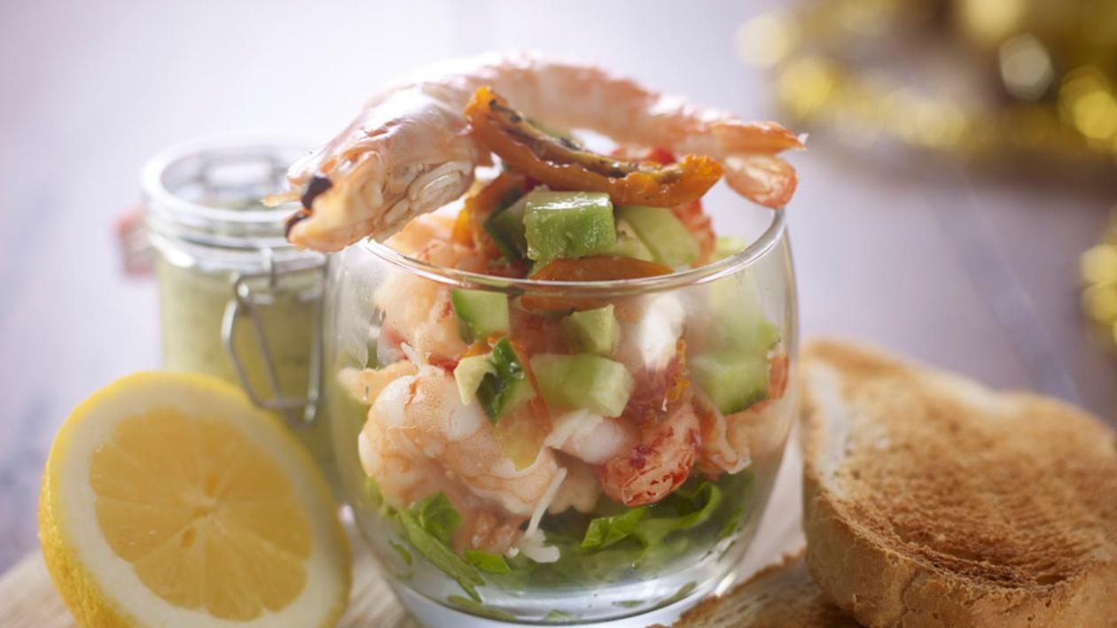 Shellfish cocktail with green mayonnaise by Chris Barber – recipe