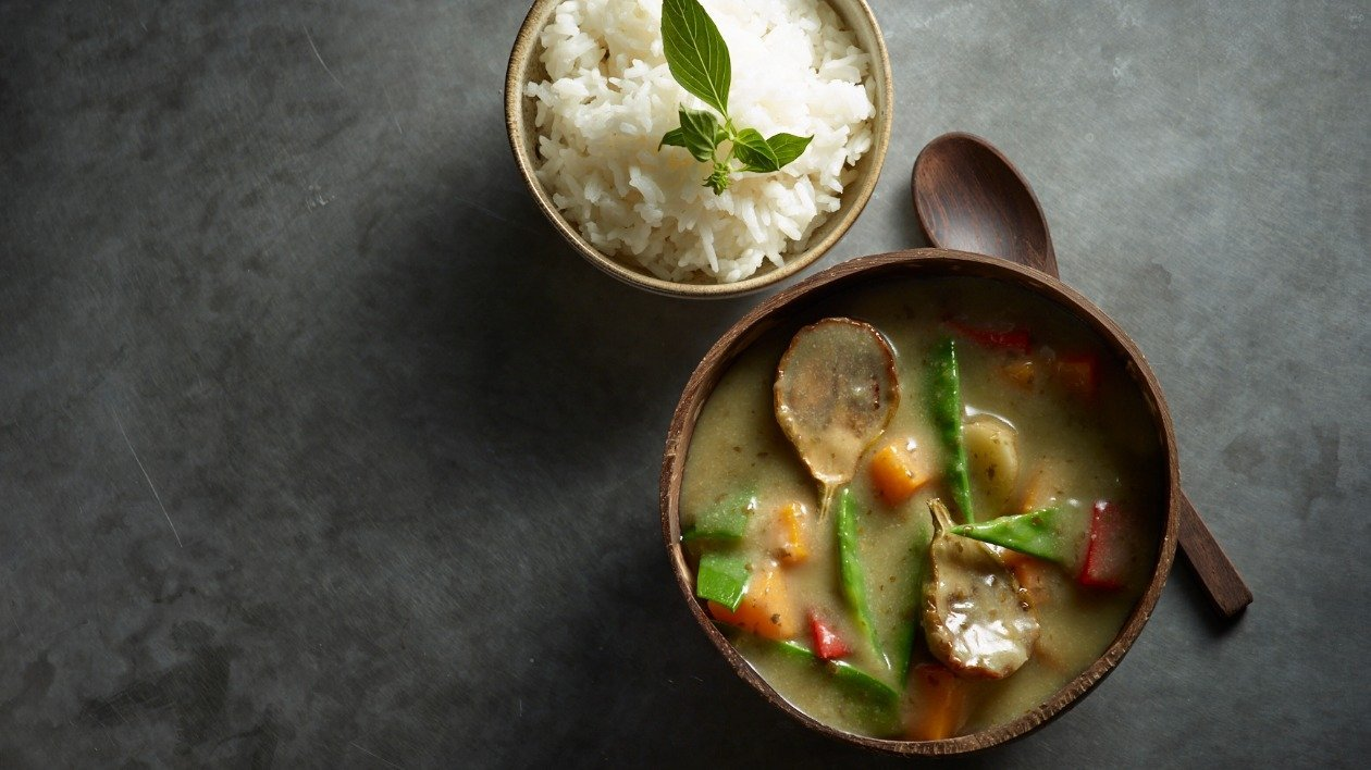 Thai Green Vegetable Curry – recipe