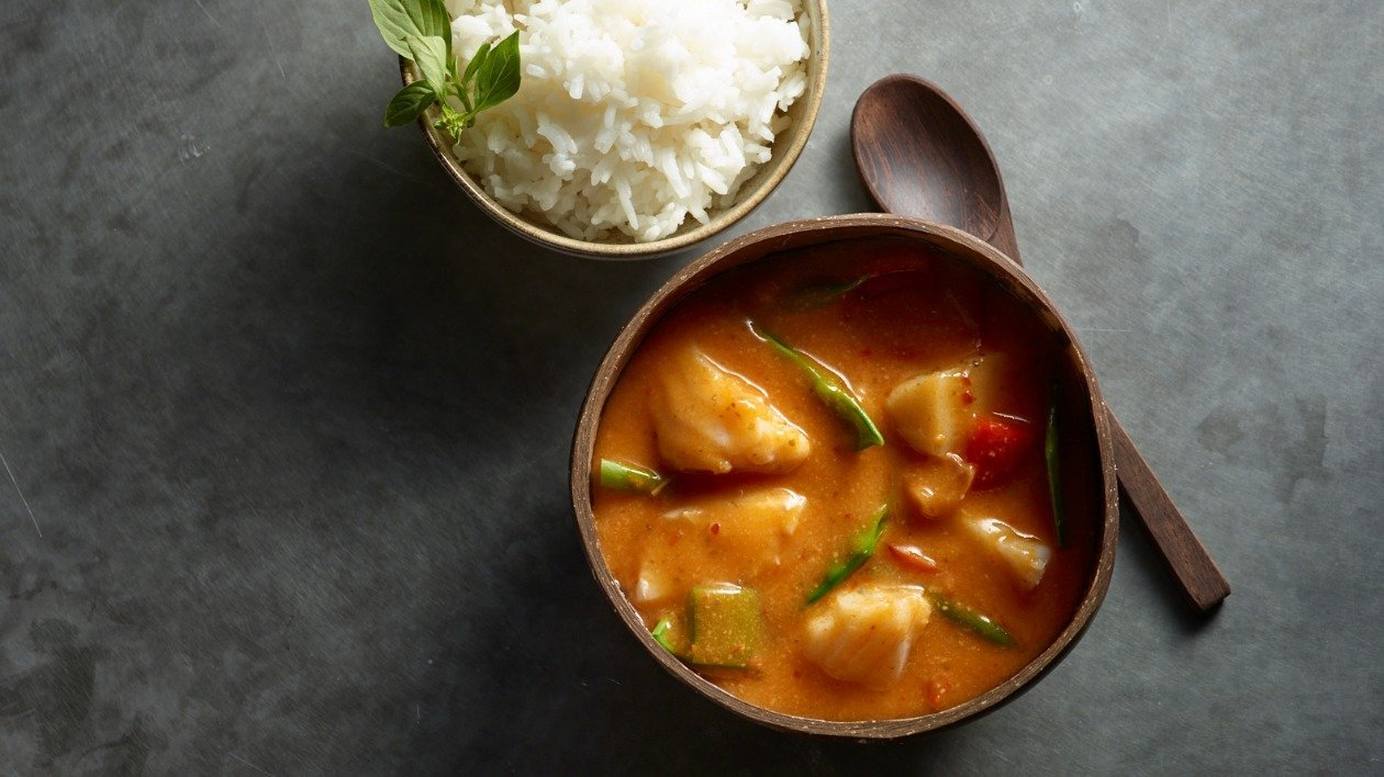 Thai Red Fish Curry – recipe