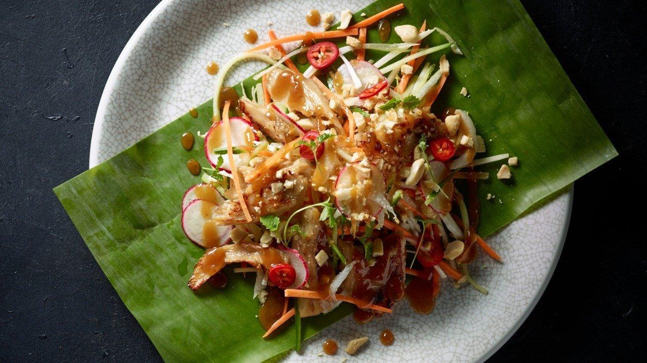 The Vegetarian Butcher Bang Bang Salad  – recipe