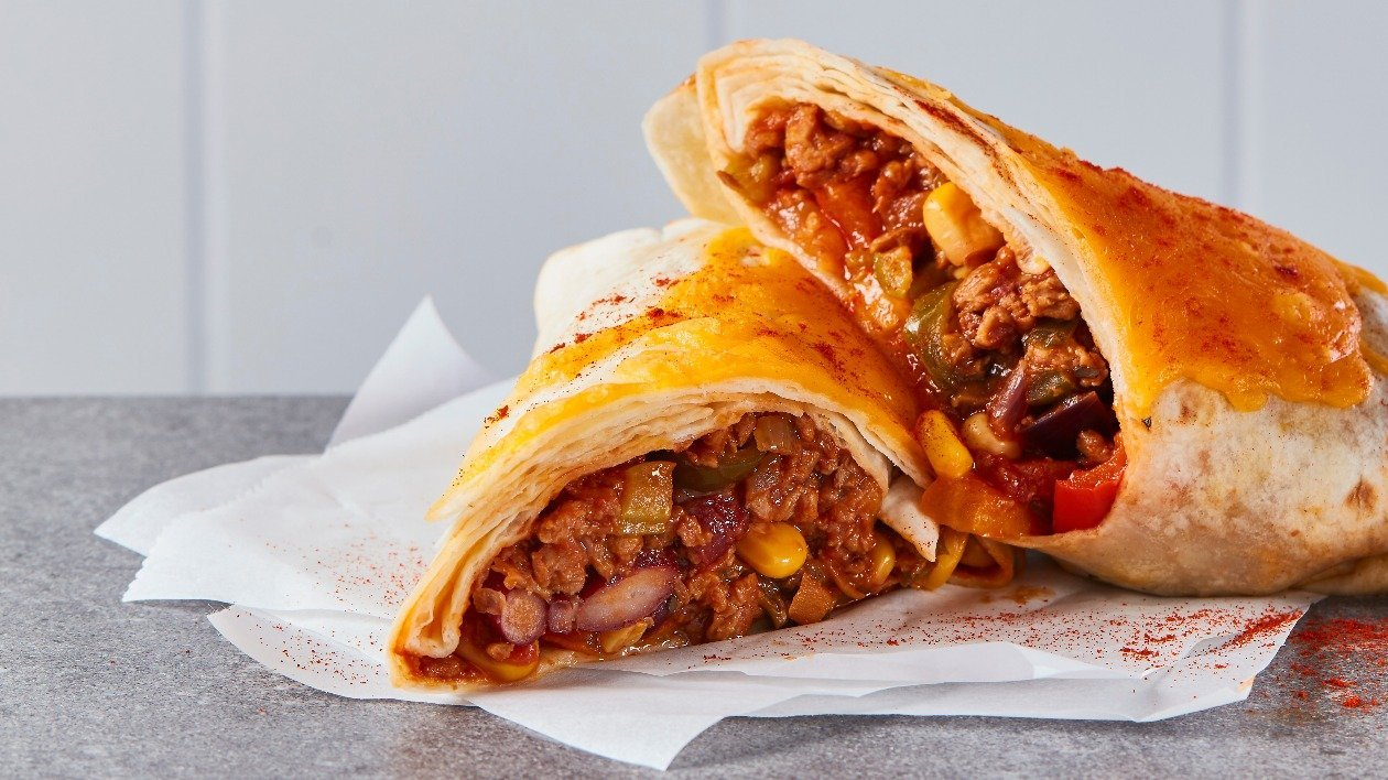 The Vegetarian Butcher Chilli Wraps – recipe