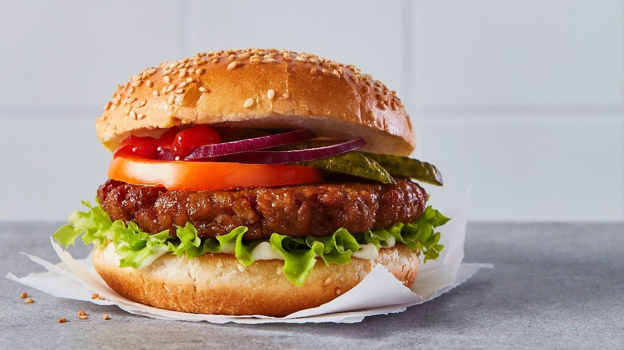 The Vegetarian Butcher Classic Burger – recipe