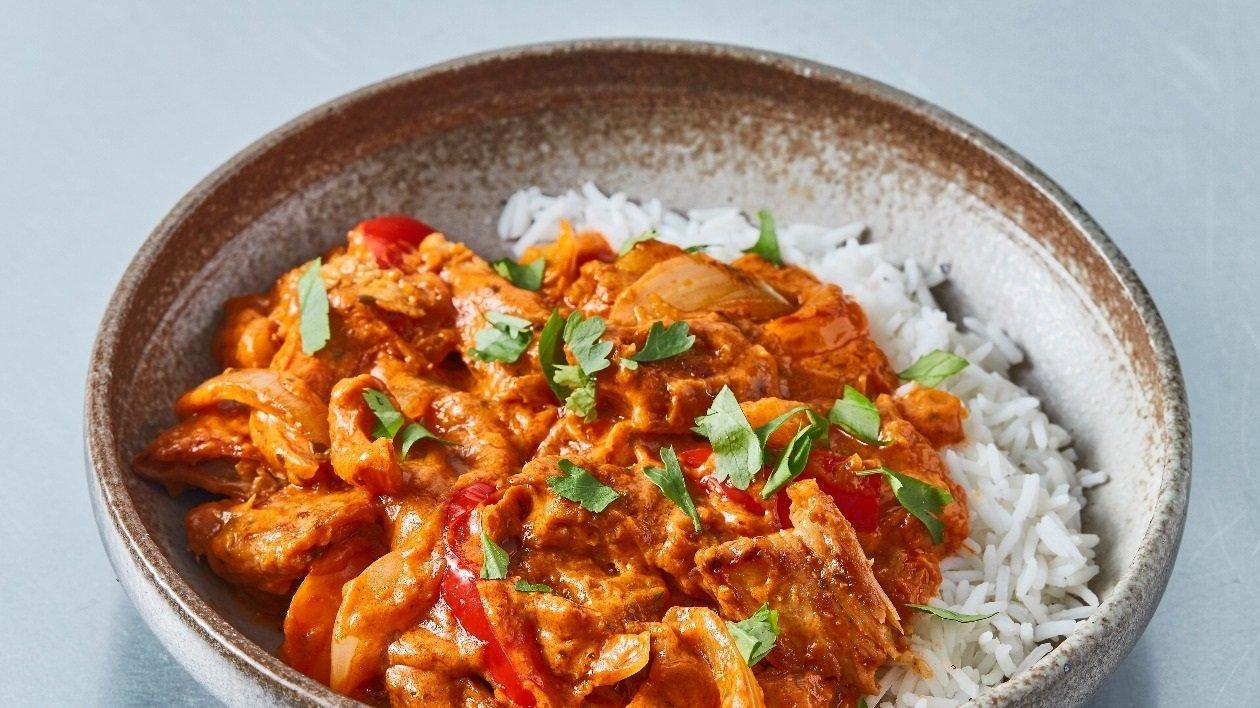The Vegetarian Butcher NoChicken and Butternut Tikka Masala – recipe