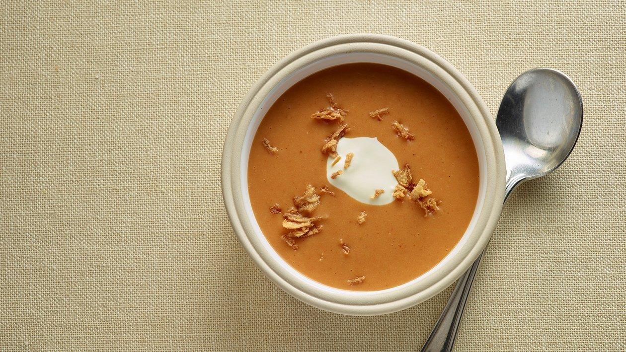 Tomato & Lentil dhal soup – recipe