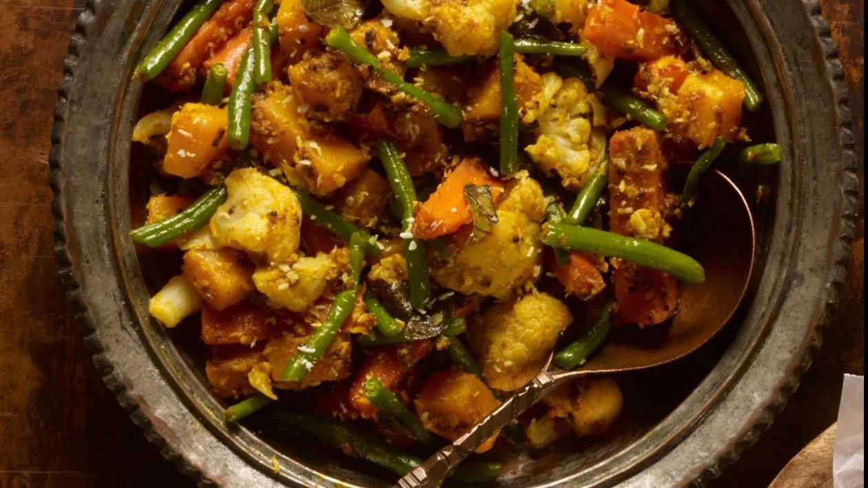 Vegetable Thoran – recipe