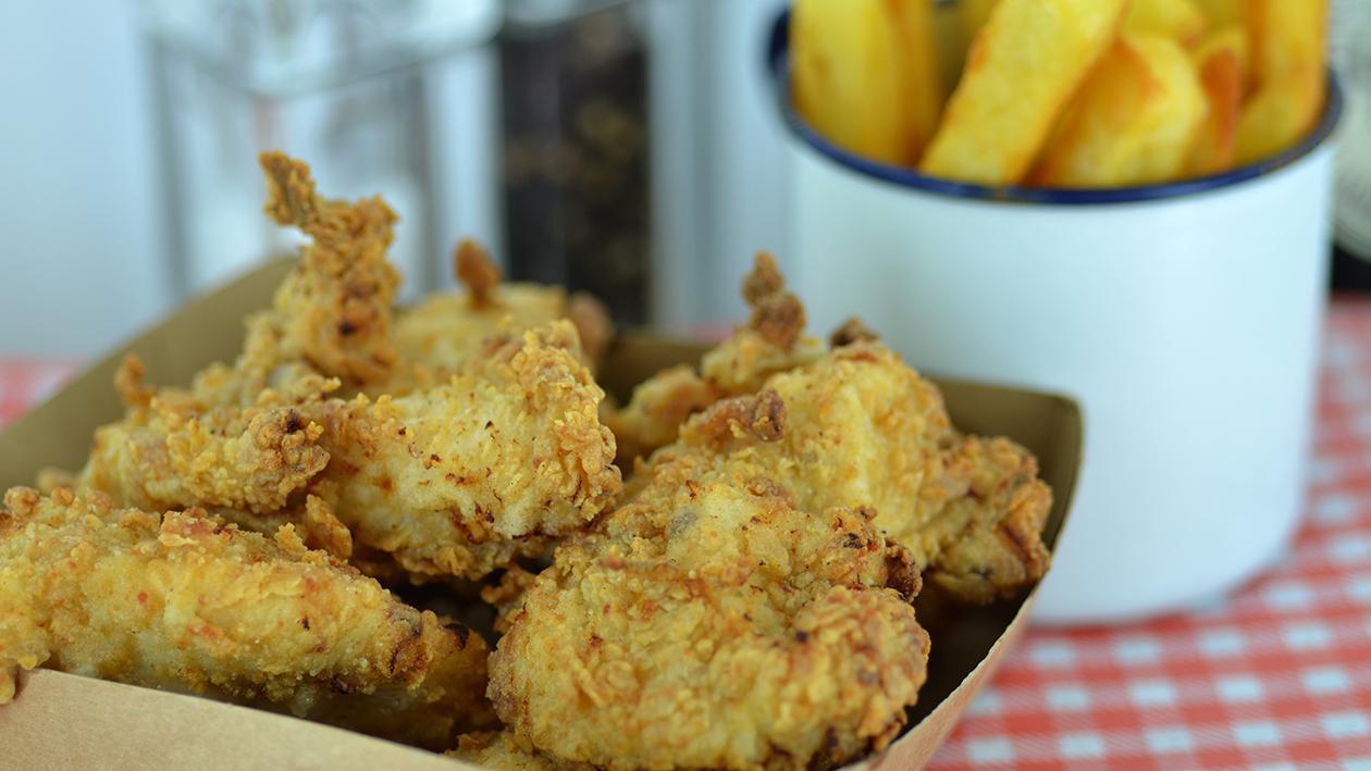 Buttermilk jerk fried chicken
