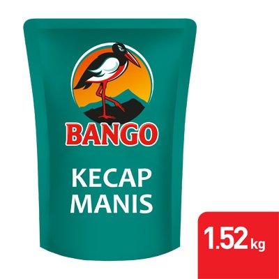 1 Carton Bango Kecap Manis Pouch 1.52kg -