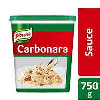 1 Carton Knorr Carbonara Sauce Tub 750g -