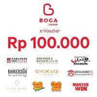 Rp100,000 Boga Group e-Voucher