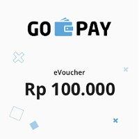 Rp100,000 GO-PAY e-Voucher