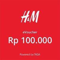 Rp100,000 H&M e-Voucher