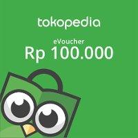 Rp100,000 Tokopedia e-Voucher (OVO Points)