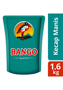 Bango Kecap Manis 1.6kg - Bango using only natural ingredients & used by famous restaurant all over Indonesia.