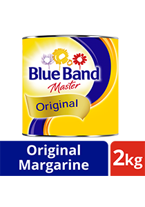 Blue Band Master Original Margarine Tin 2kg