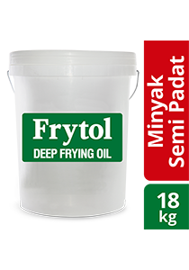 Frytol Frying Oil 18kg - Frytol semi-solid frying oil, bigger yield for crispier and less oily fritters means better results at the same cost!