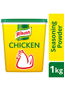 Knorr Chicken Powder Tub 1kg - Knorr Chicken Powder, the #1 premium seasoning that delivers the best dishes*.