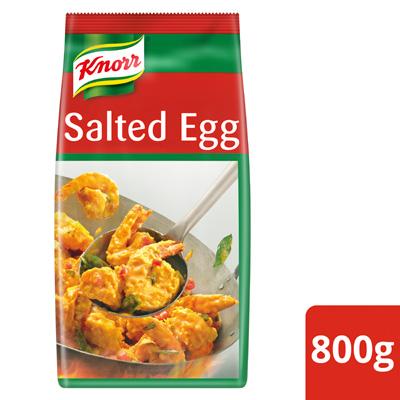 Knorr Golden Salted Egg Powder 800g - Knorr Golden Salted Egg Powder is a versatile ingredient for creating endless innovative salted egg dishes