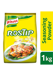 Knorr Rostip 1kg - A chicken flavour with rich garlic and real pepper for the best stir fry aroma.