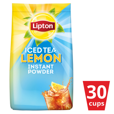 Lipton Iced Tea Lemon 510g - With Lipton Iced Tea Lemon, tasty lemon iced tea is only one pour away!