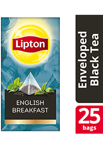 Lipton Pyramid English Breakfast 25x2g - Lipton Exclusive Selection gives your guests an exceptional tea experience