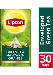 Lipton Pyramid Green Tea Mandarin Orange 30x1.8g