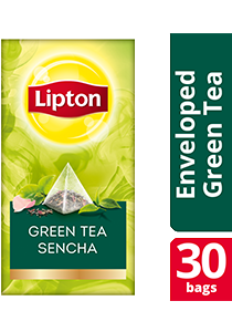 Lipton Pyramid Green Tea Sencha 30x1.8g - Lipton Exclusive Selection gives your guests an exceptional tea experience